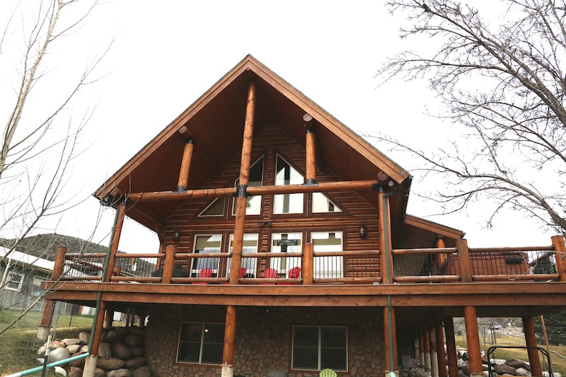 Log Home Kit From Whisper Creek Log Homes In Glenwood Springs